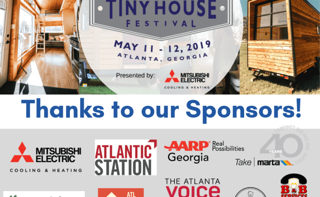 Tiny House Atlanta Instagram Up To Event