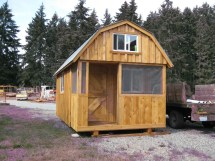 Tiny House Plans Barn Style Sheds with Loft