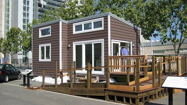 500 Sq Ft New Avenue Home  Modern Tiny Home With 7