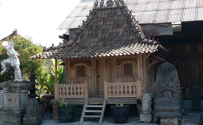 Tiny Javanese Joglo Houses