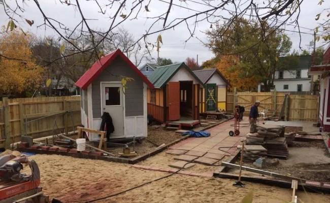 Madison Tiny House Village For The Homeless Tiny House Blog