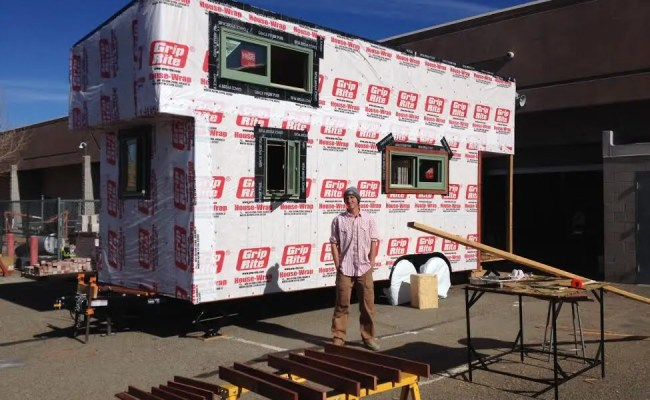 Mcmansion Of Tiny Houses Built By Woodshop Class