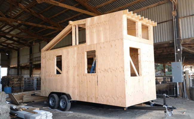 Angels In Toolbelts Gather To Build Tiny House For
