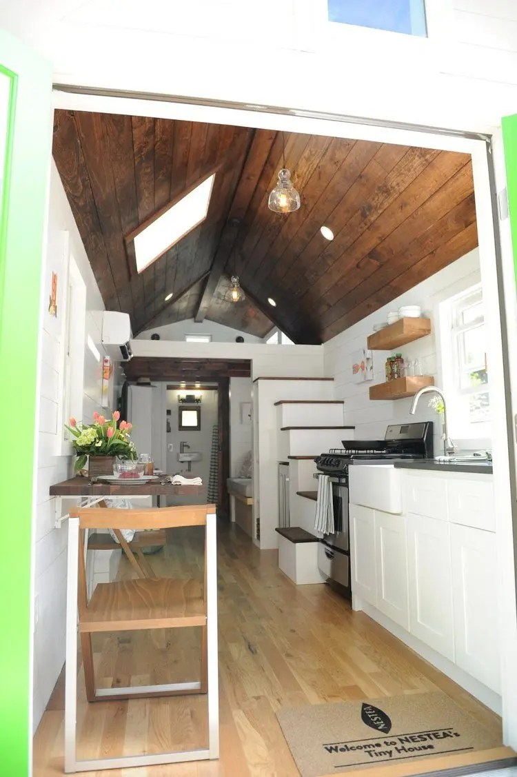 Nesteas Tiny Less is More House  Tiny House Blog