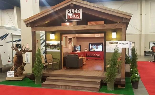 Sledhaus Modular Luxury In 572 Square Feet Tiny House Blog