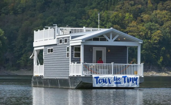 Harbor Cottage Tiny Houseboat Tiny House Blog