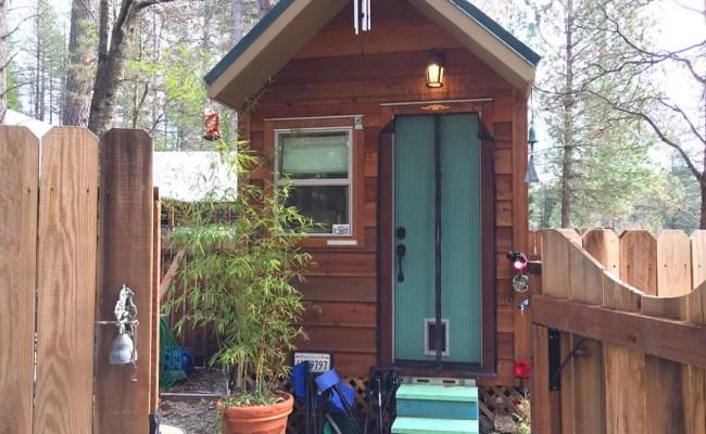 California Campground Host S Tiny House Tour Tiny House Blog