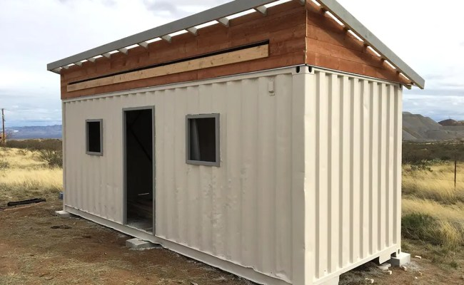 Homesteadonomics Shipping Container Leftovers Tiny House