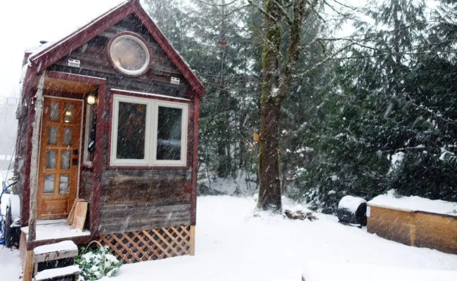Surviving Winter Living Tiny 4 Tips To Keep Things