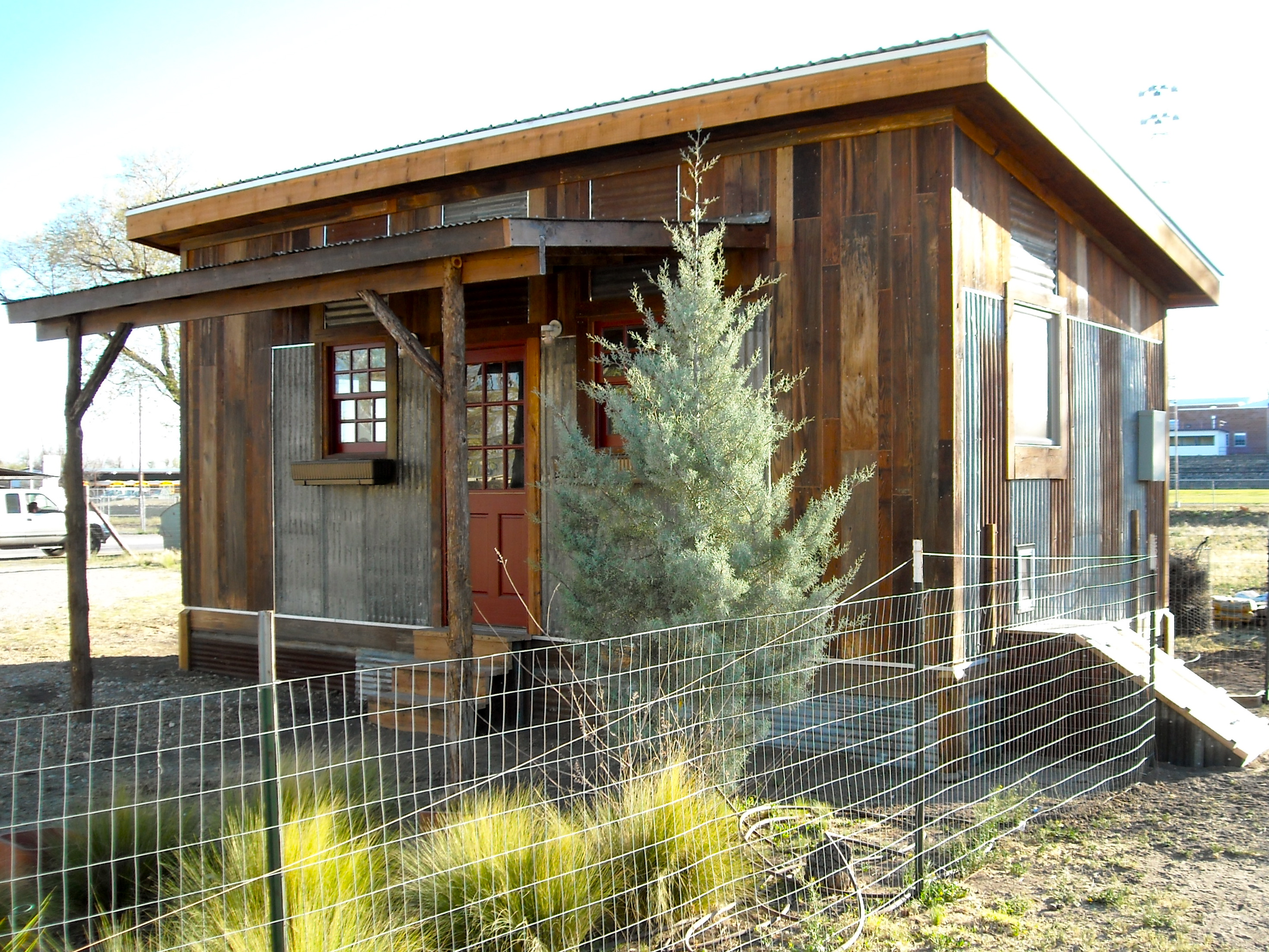 Reclaimed Space  Small House Builder  Tiny House Design