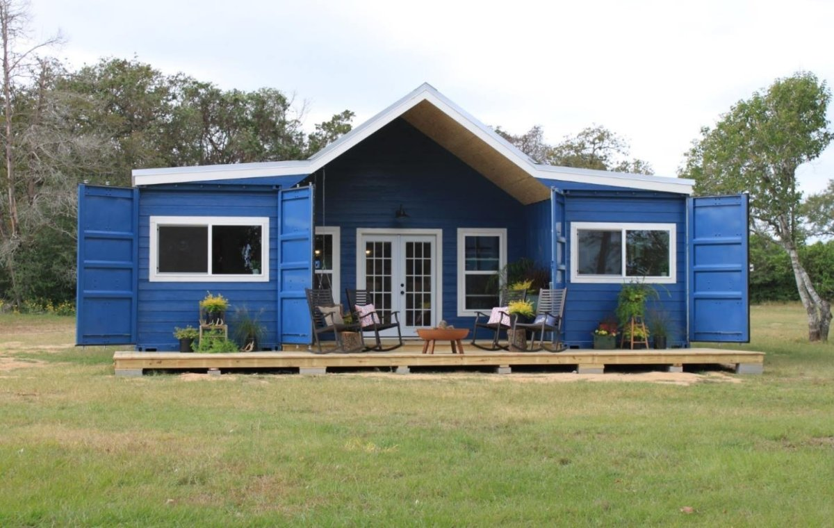 Shipping Container House Ideas & Plans