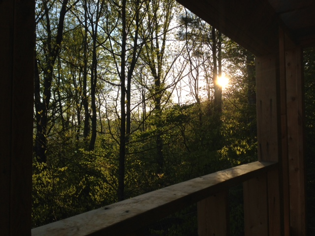 Daybreak from Our Future Bedroom
