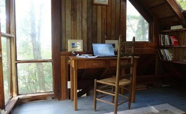 Cottage On A Hill Makes For A Perfect Writer S Retreat
