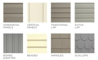 All About Siding Materials and Styles