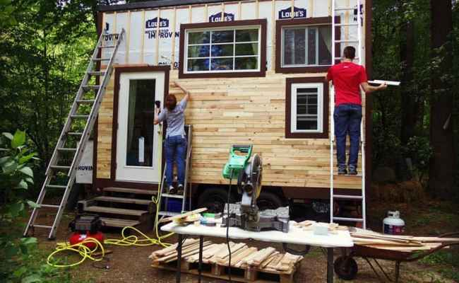 How A Young Couple Built This Adorable Mortgage Free Pod