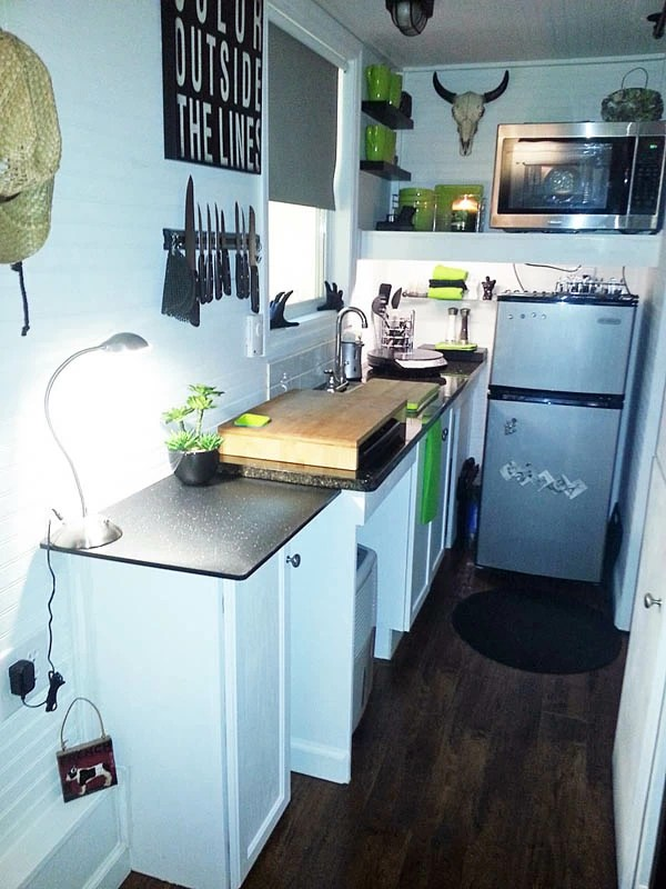 tiny house kitchens kitchen utility cart 12 designs we love see more of mendy s home here