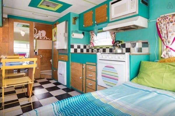 Vintage Trailer Restoration With A Hip  Colorful Vibe