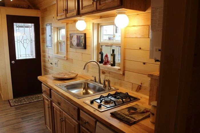 tiny house kitchens kitchen dining set 12 designs we love liberty treasure homes 5