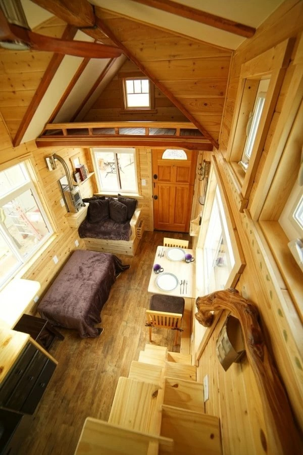 Stunning Detail Throughout This CraftsmanStyle Tiny Home
