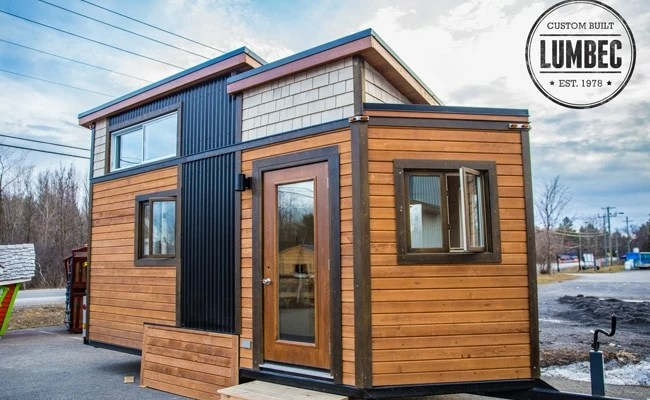 Quebec Builder S Lumbec Tiny Home Shows Off Stunning