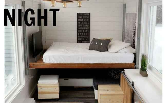 Homemade Elevator Bed Highlights Diy Blogger Ana White S