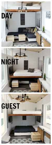 Homemade elevator bed highlights DIY blogger Ana Whites ...