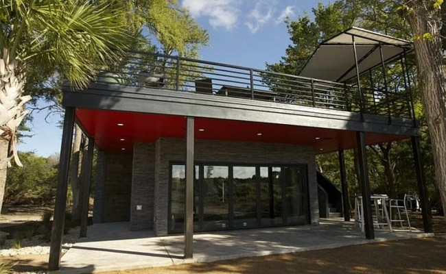 Neon Deion Downsizes In Tiny House Nation S Most Luxurious