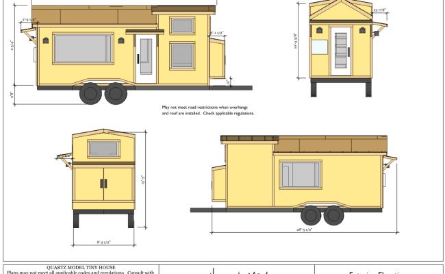 Plan Tiny House Quartz Tiny House France