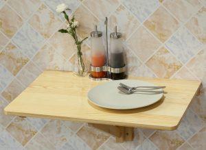 table cuisine rabattable murale