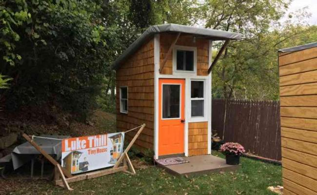 A 13 Ans Il Construit Sa Propre Tiny House Tiny House France