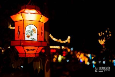 Botanical Garden street lights
