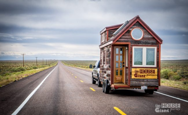 Tiny House Travel Tips Including Towing Camping And