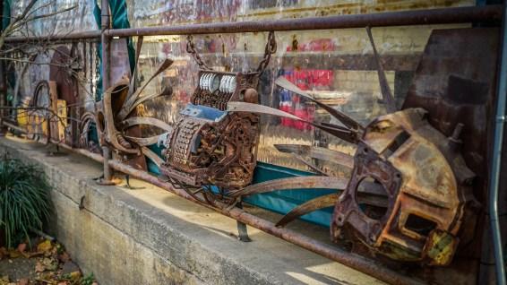 Industrial Sculptures @ The Wedge