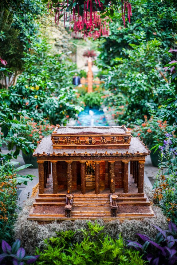 US Botanical Gardens / Tiny sculptures of Monuments