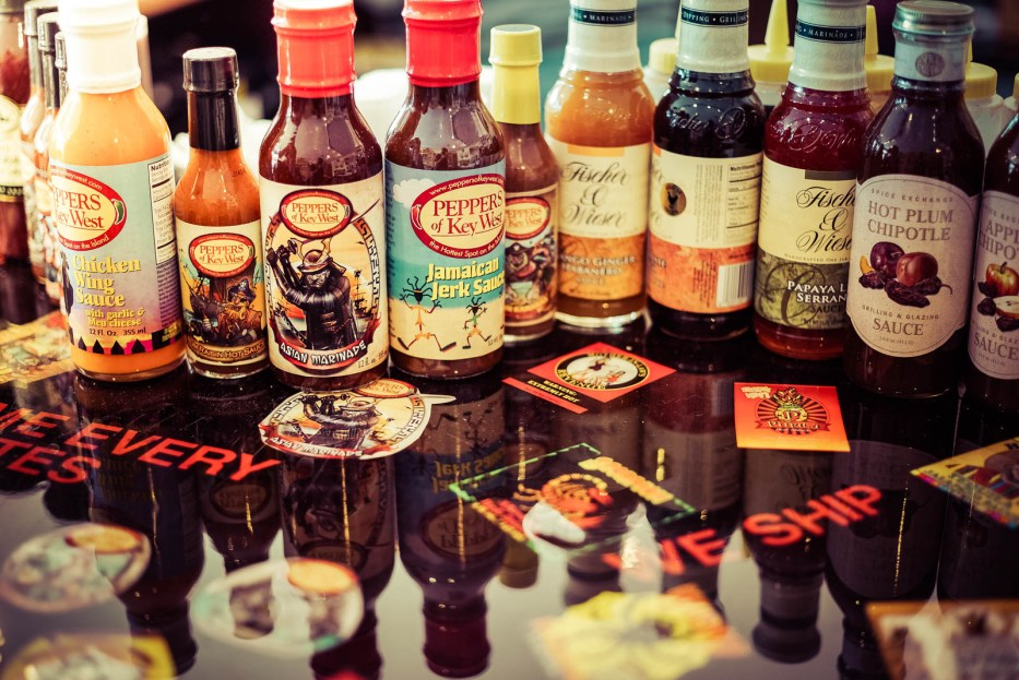 Key West Hot Sauce Tasting