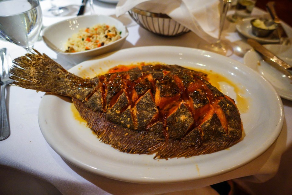 Seared Flounder