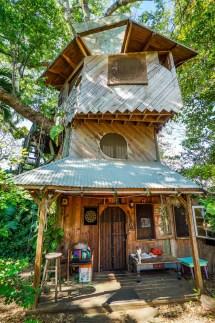 Three Story Tree House