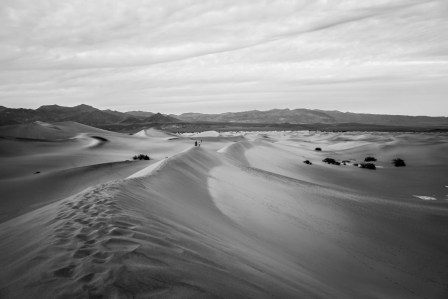 Death Valley Sand Dunes - 0004