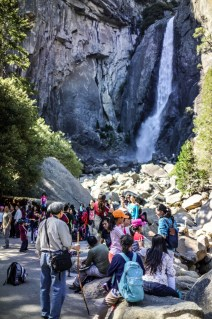Lower Yosemite Falls / Disney World Traffic