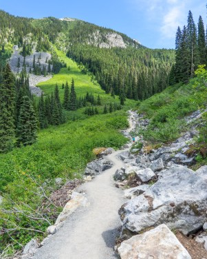The Hike Up To Middle Joffre Lake