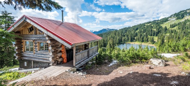 "Canadian Wilderness Adventure's ""Top Of The World Cabin"""