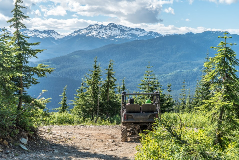 Off-Roading With A View