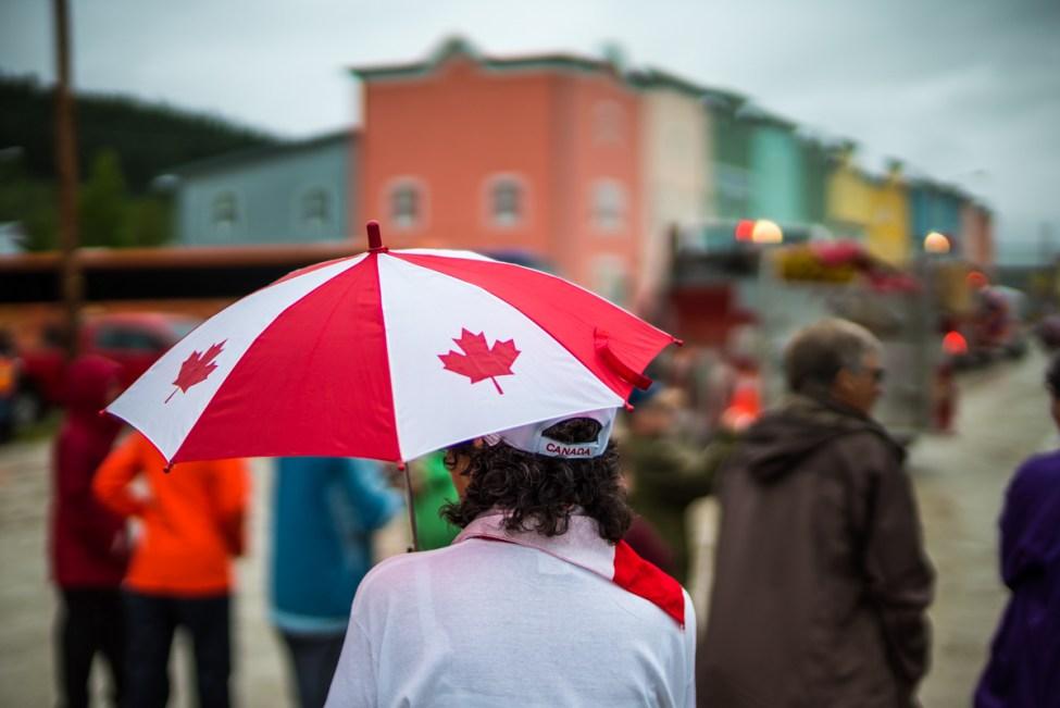 Canada Day Dawson City Parade - 0009
