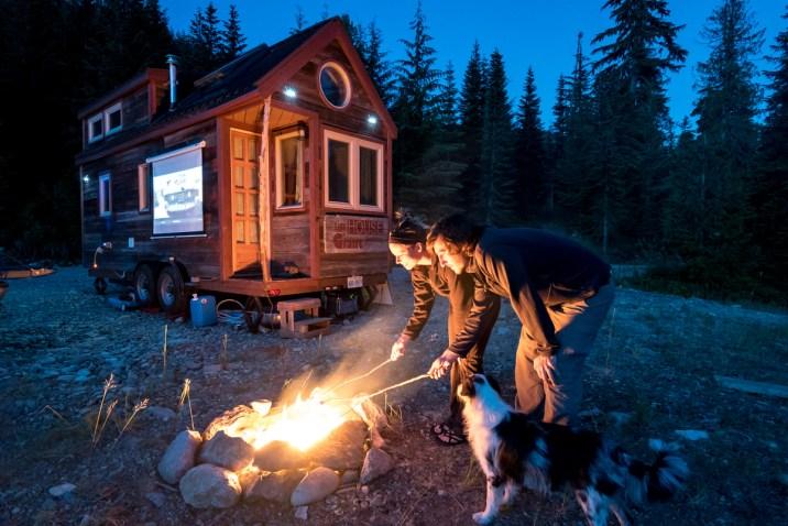 Smore's And Outdoor Movie Night