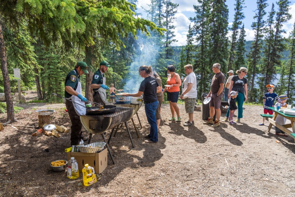 Fish Fry at Family Fishing Weekend