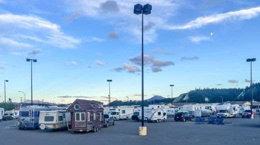Wal-Mart Free Overnight Parking in Whitehorse