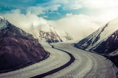 One Of Denali's Many Glaciers