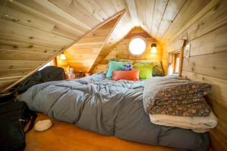 tiny house bedroom. The Pinafore Tiny House Bed Options