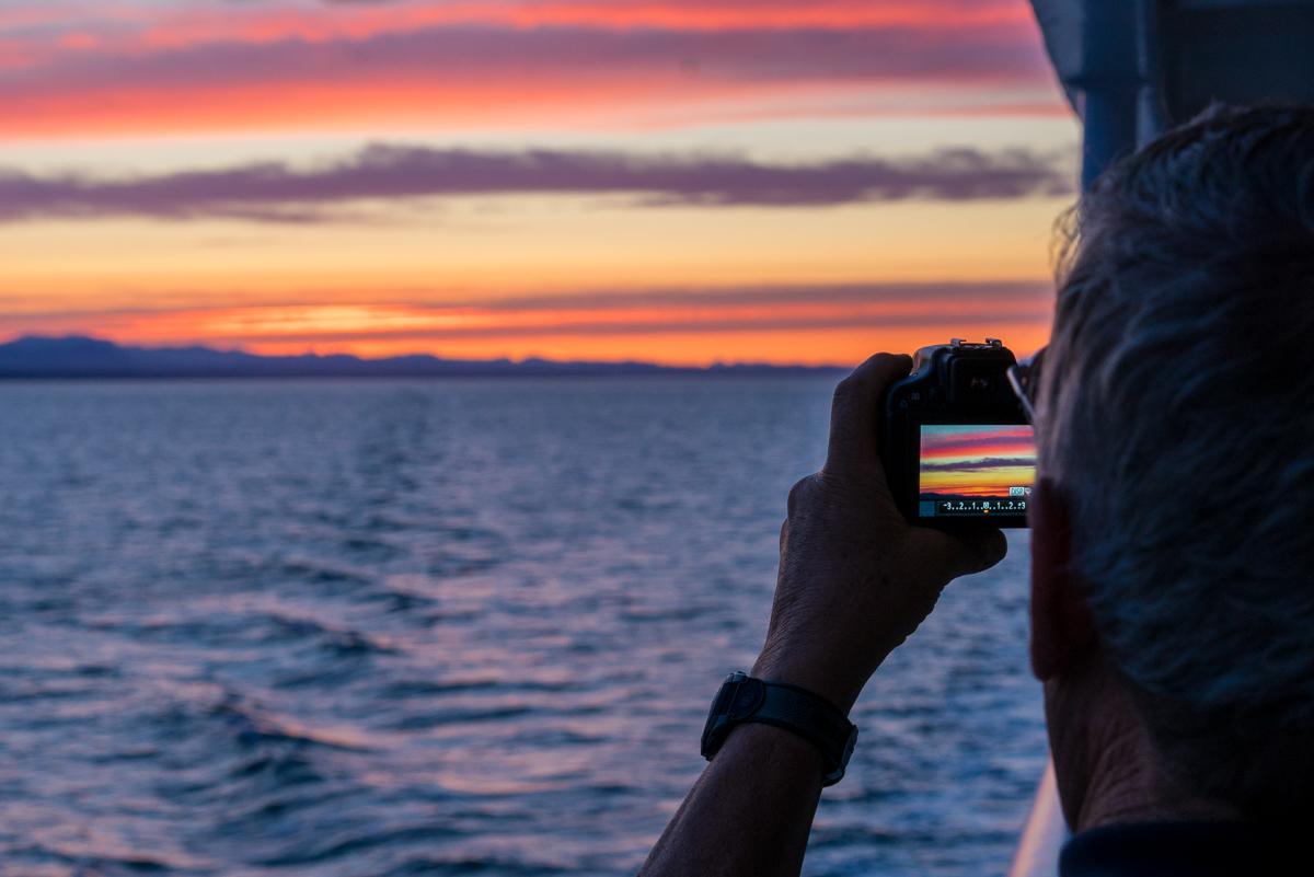 Ferry Sunset - 0010