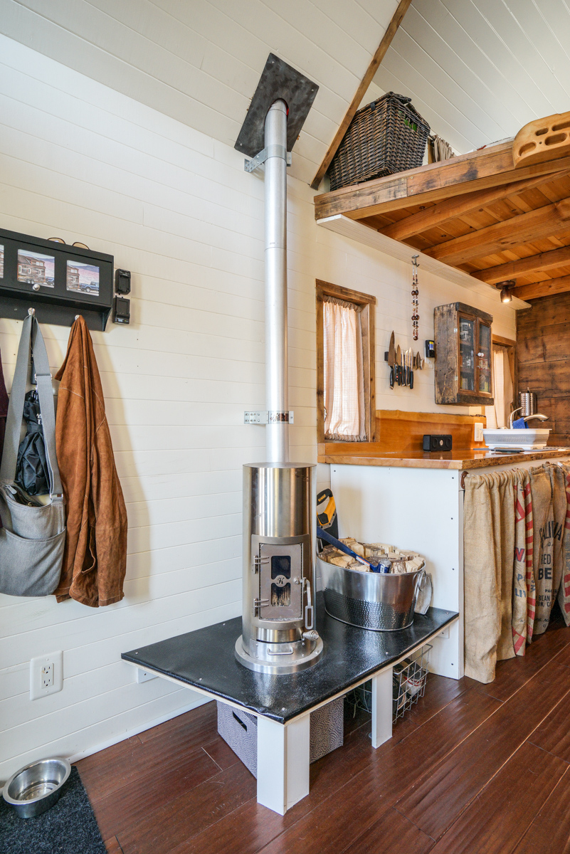 Our tiny house interior photos Interior pictures of tin homes